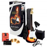 Tenson E-Gitarre Set ST-Special Player Pack Sunburst