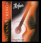 Höfner Sienna Strings Gitarrensaiten Set für Konzertgitarre